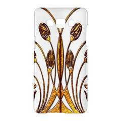 Scroll Gold Floral Design Samsung Galaxy A5 Hardshell Case