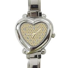 Star Basket Pattern Basket Pattern Heart Italian Charm Watch