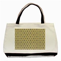 Star Basket Pattern Basket Pattern Basic Tote Bag