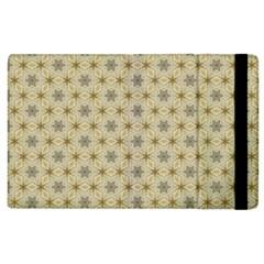 Star Basket Pattern Basket Pattern Apple iPad 2 Flip Case