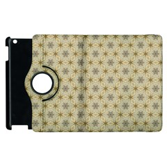 Star Basket Pattern Basket Pattern Apple iPad 2 Flip 360 Case