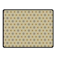 Star Basket Pattern Basket Pattern Double Sided Fleece Blanket (Small)