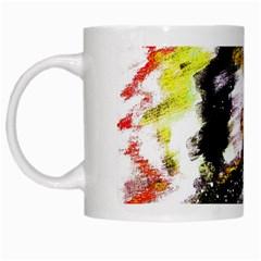 Canvas Acrylic Digital Design White Mugs