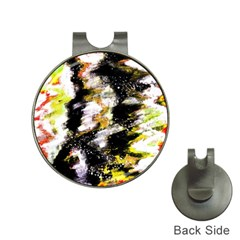 Canvas Acrylic Digital Design Hat Clips With Golf Markers
