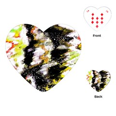 Canvas Acrylic Digital Design Playing Cards (Heart)