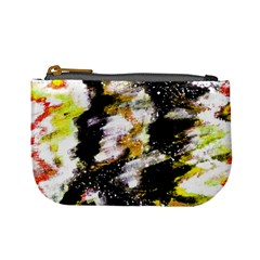 Canvas Acrylic Digital Design Mini Coin Purses