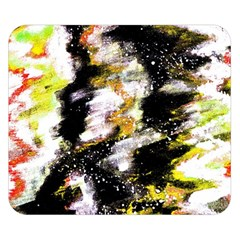 Canvas Acrylic Digital Design Double Sided Flano Blanket (small)