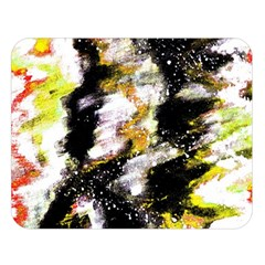 Canvas Acrylic Digital Design Double Sided Flano Blanket (large)