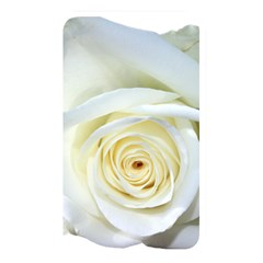 Flower White Rose Lying Memory Card Reader