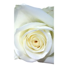Flower White Rose Lying Shower Curtain 48  x 72  (Small)
