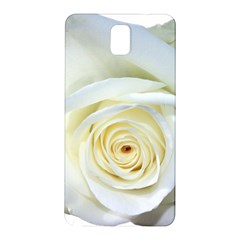 Flower White Rose Lying Samsung Galaxy Note 3 N9005 Hardshell Back Case
