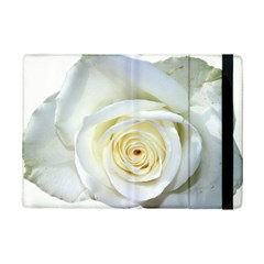 Flower White Rose Lying Ipad Mini 2 Flip Cases