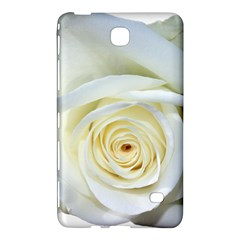 Flower White Rose Lying Samsung Galaxy Tab 4 (8 ) Hardshell Case