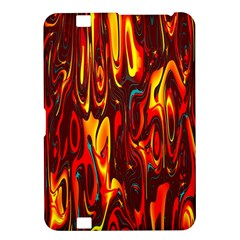 Effect Pattern Brush Red Orange Kindle Fire Hd 8 9