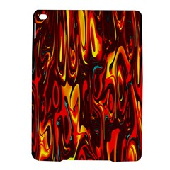 Effect Pattern Brush Red Orange Ipad Air 2 Hardshell Cases