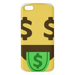 Money Face Emoji iPhone 5S/ SE Premium Hardshell Case