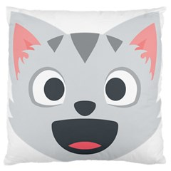 Cat Smile Standard Flano Cushion Case (Two Sides)