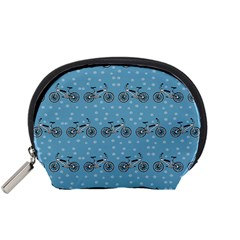 Bicycles Pattern Accessory Pouches (Small)