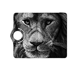 My Lion Sketch Kindle Fire Hdx 8 9  Flip 360 Case