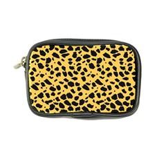 Skin Animals Cheetah Dalmation Black Yellow Coin Purse