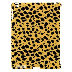 Skin Animals Cheetah Dalmation Black Yellow Apple iPad 3/4 Hardshell Case (Compatible with Smart Cover)