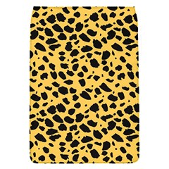Skin Animals Cheetah Dalmation Black Yellow Flap Covers (S)