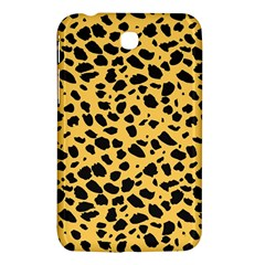 Skin Animals Cheetah Dalmation Black Yellow Samsung Galaxy Tab 3 (7 ) P3200 Hardshell Case