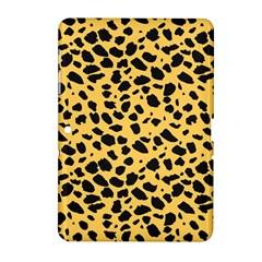 Skin Animals Cheetah Dalmation Black Yellow Samsung Galaxy Tab 2 (10.1 ) P5100 Hardshell Case