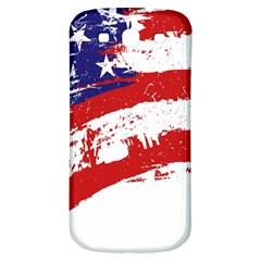 Red White Blue Star Flag Samsung Galaxy S3 S Iii Classic Hardshell Back Case