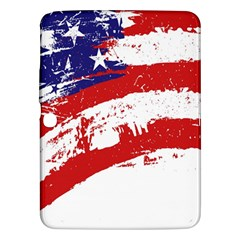 Red White Blue Star Flag Samsung Galaxy Tab 3 (10.1 ) P5200 Hardshell Case