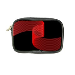 Tape Strip Red Black Amoled Wave Waves Chevron Coin Purse