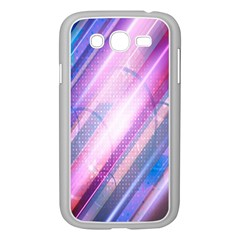 Widescreen Polka Star Space Polkadot Line Light Chevron Waves Circle Samsung Galaxy Grand DUOS I9082 Case (White)