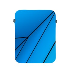 Technical Line Blue Black Apple iPad 2/3/4 Protective Soft Cases