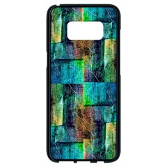 Abstract Square Wall Samsung Galaxy S8 Black Seamless Case
