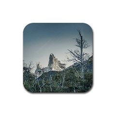 Fitz Roy Mountain, El Chalten Patagonia   Argentina Rubber Square Coaster (4 pack)