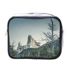 Fitz Roy Mountain, El Chalten Patagonia   Argentina Mini Toiletries Bags