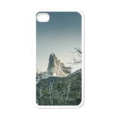 Fitz Roy Mountain, El Chalten Patagonia   Argentina Apple iPhone 4 Case (White)