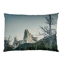 Fitz Roy Mountain, El Chalten Patagonia   Argentina Pillow Case (Two Sides)