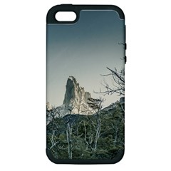 Fitz Roy Mountain, El Chalten Patagonia   Argentina Apple iPhone 5 Hardshell Case (PC+Silicone)