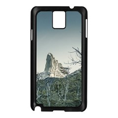 Fitz Roy Mountain, El Chalten Patagonia   Argentina Samsung Galaxy Note 3 N9005 Case (Black)