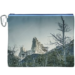 Fitz Roy Mountain, El Chalten Patagonia   Argentina Canvas Cosmetic Bag (XXXL)