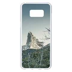 Fitz Roy Mountain, El Chalten Patagonia   Argentina Samsung Galaxy S8 Plus White Seamless Case
