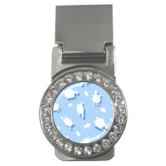 Vector Sheep Clouds Background Money Clips (cz)