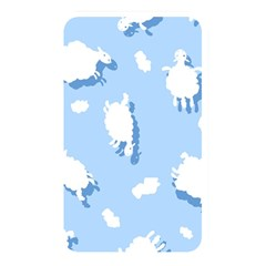 Vector Sheep Clouds Background Memory Card Reader