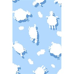 Vector Sheep Clouds Background 5.5  x 8.5  Notebooks