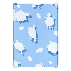 Vector Sheep Clouds Background Apple Ipad Mini Hardshell Case