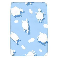 Vector Sheep Clouds Background Flap Covers (s)