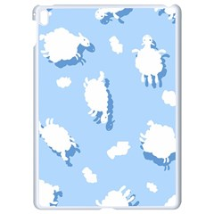 Vector Sheep Clouds Background Apple Ipad Pro 9 7   White Seamless Case