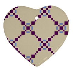 Pattern Background Vector Seamless Ornament (Heart)