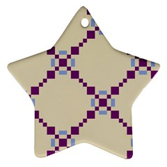 Pattern Background Vector Seamless Ornament (star)